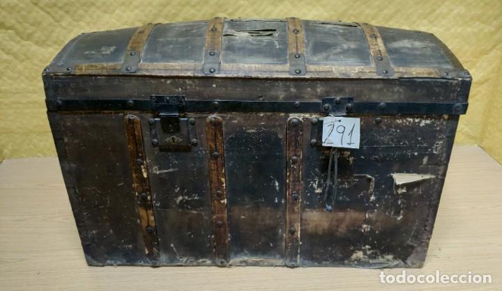 BAÚL SIGLO XX EN MADERA DE PINO, 6000-291 (Antigüedades - Muebles Antiguos - Baúles Antiguos)