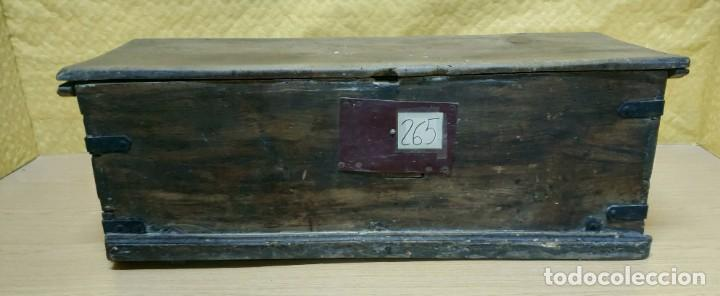 BAÚL EN MADERA SIGLO XIX-XX, 6000-265 (Antigüedades - Muebles Antiguos - Baúles Antiguos)