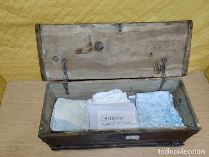 Antigüedades: BAÚL EN MADERA SIGLO XIX-XX, 6000-265 - Foto 8 - 175000878