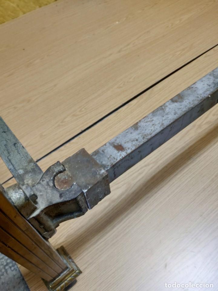 Antigüedades: CAMA CON CABECERO Y TRASERA EN BRONCE SIGLO XX, 6000-275 - Foto 13 - 45753260