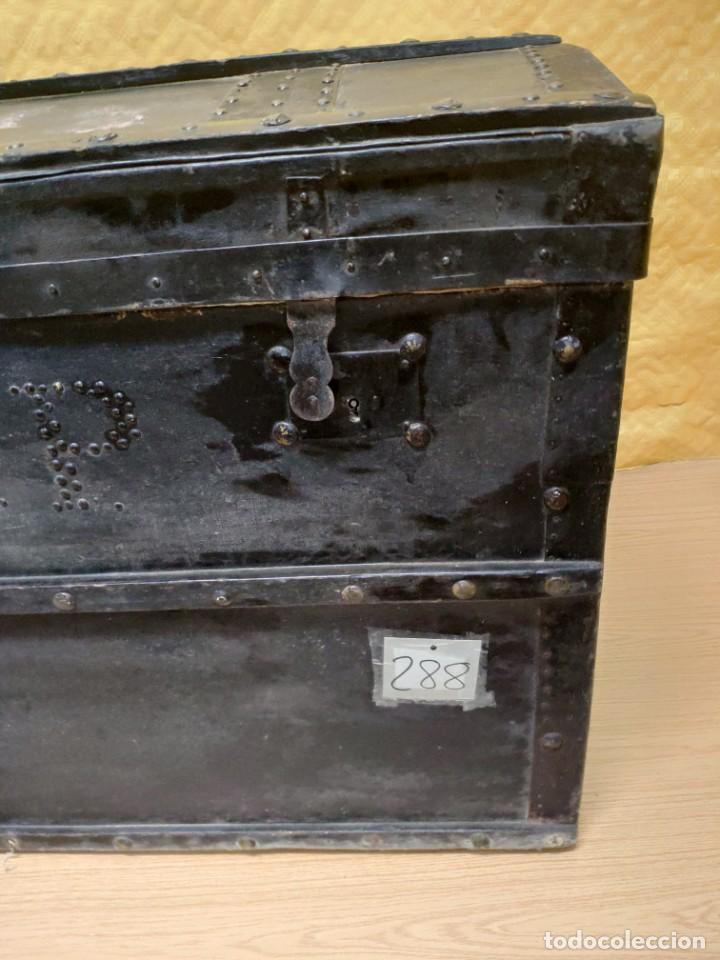 Antigüedades: BAÚL EN MADERA SIGLO XX, 6000-288 - Foto 5 - 45787003