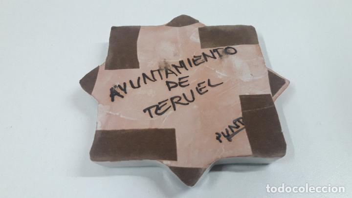 Antigüedades: CENICERO - OBJETO DECORATIVO . MARCADO AYUNTAMIENTO DE TERUEL . FIRMADO PUNTER - Foto 7 - 218563791