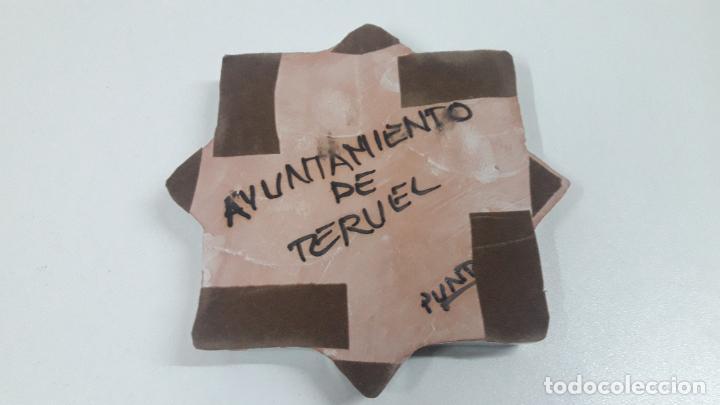 Antigüedades: CENICERO - OBJETO DECORATIVO . MARCADO AYUNTAMIENTO DE TERUEL . FIRMADO PUNTER - Foto 8 - 218563791