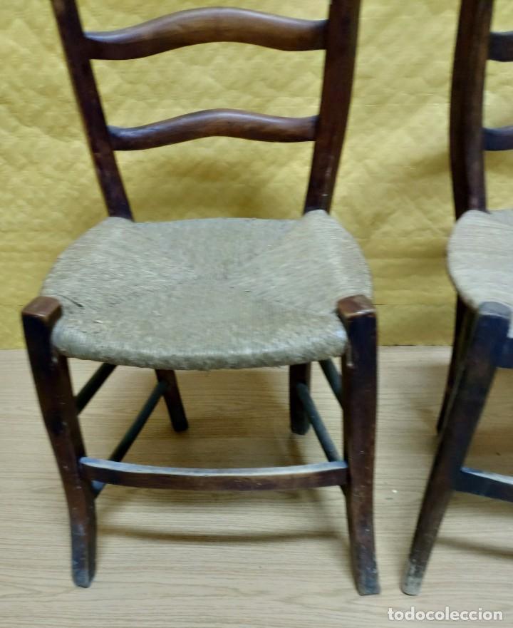 Antigüedades: SILLAS (3 Unidades) EN MADERA DE HAYA, 6000-231 - Foto 6 - 48295809
