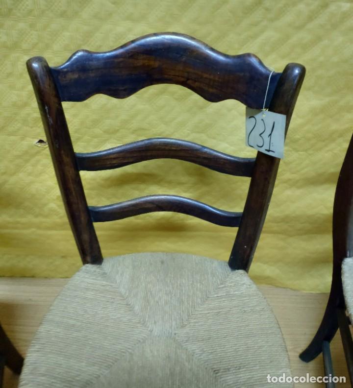 Antigüedades: SILLAS (3 Unidades) EN MADERA DE HAYA, 6000-231 - Foto 9 - 48295809