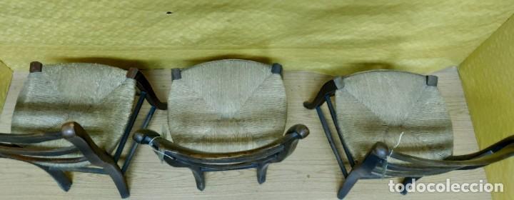 Antigüedades: SILLAS (3 Unidades) EN MADERA DE HAYA, 6000-231 - Foto 10 - 48295809