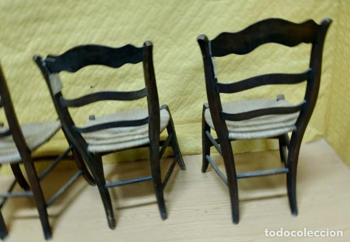 Antigüedades: SILLAS (3 Unidades) EN MADERA DE HAYA, 6000-231 - Foto 13 - 48295809