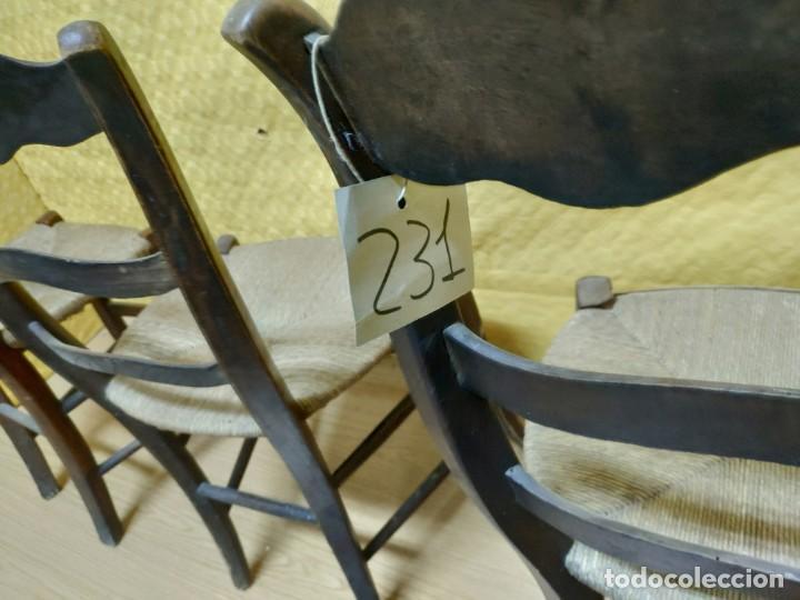 Antigüedades: SILLAS (3 Unidades) EN MADERA DE HAYA, 6000-231 - Foto 15 - 48295809
