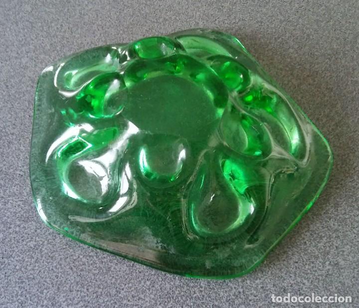 Antigüedades: Cenicero cristal murano - Foto 3 - 218576632