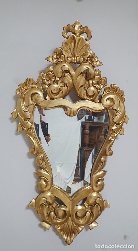 Antigüedades: Pareja de Cornucopias doradas antiguas - Foto 2 - 218579667