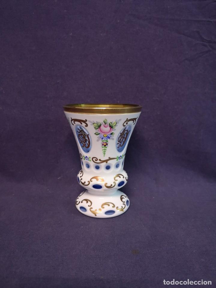 JARRON COLECCION DE BOHEMIA (Antigüedades - Cristal y Vidrio - Bohemia)