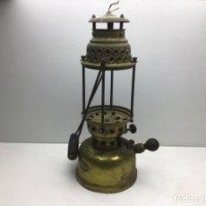 Antiquités: LAMPARA DE PETROLEO FOCUS - BADALONA - FAROL - QUINQUE - PARA RESTAURAR. Lote 218616975