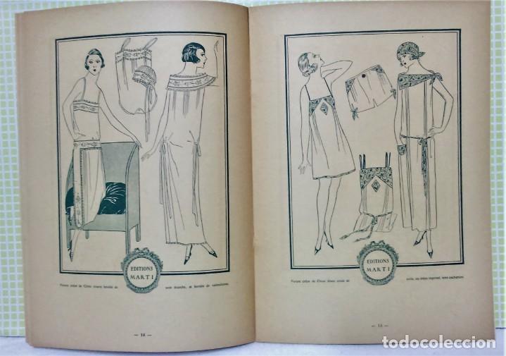 Antigüedades: PATRONES GRADUABLES MARTÍ .LENCERIA.CUADERNO,LÁMINAS,PATRONES Y GUIA.AÑOS 20 - Foto 6 - 218621617