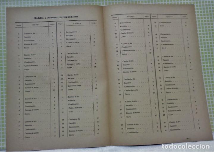 Antigüedades: PATRONES GRADUABLES MARTÍ .LENCERIA.CUADERNO,LÁMINAS,PATRONES Y GUIA.AÑOS 20 - Foto 10 - 218621617