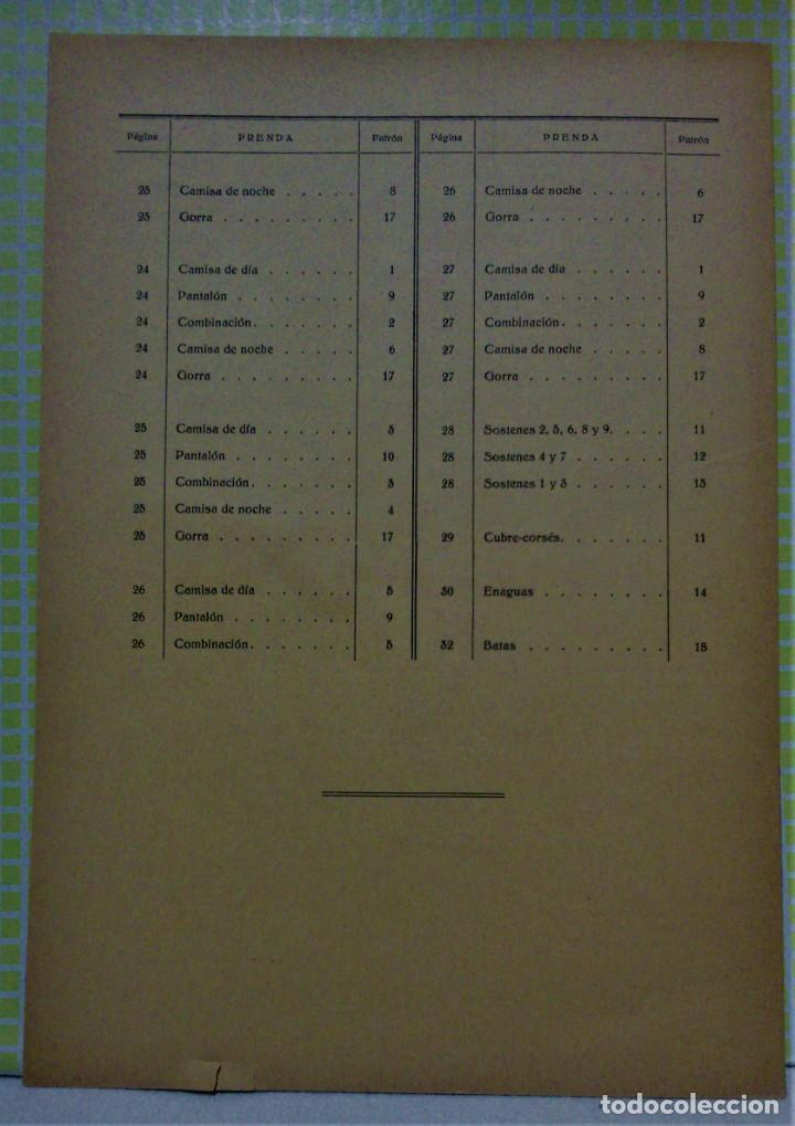 Antigüedades: PATRONES GRADUABLES MARTÍ .LENCERIA.CUADERNO,LÁMINAS,PATRONES Y GUIA.AÑOS 20 - Foto 11 - 218621617