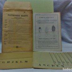 Antigüedades: PATRONES MARTÍ .LA MODA DE INVIERNO 1919-20.PARA NIÑAS.VER DESCRIPCIÓN. Lote 218622865