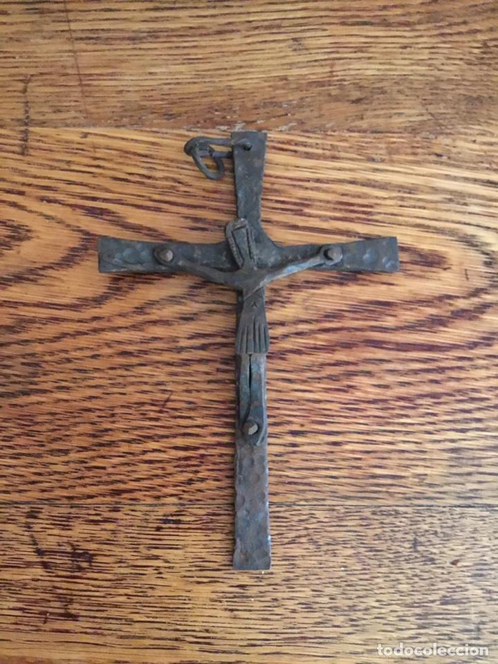 CRUZ DE HIERRO (Antigüedades - Religiosas - Cruces Antiguas)