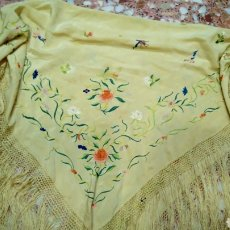 Antiques: ANTIGUO MANTON IMPERIO. Lote 218651055