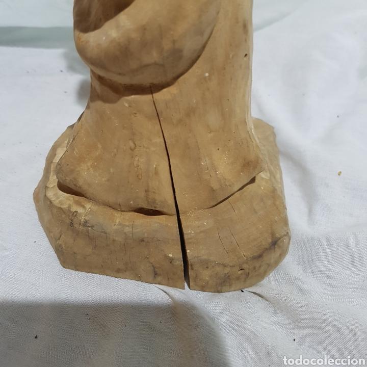 Antigüedades: TALLA DE MADERA - Foto 3 - 218671921