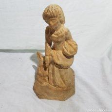 Antigüedades: TALLA DE MADERA. Lote 218671921