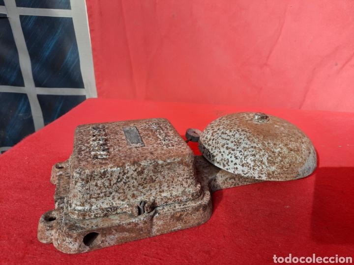 Antigüedades: Antiguo timbre alarma de barco - Foto 4 - 218673692