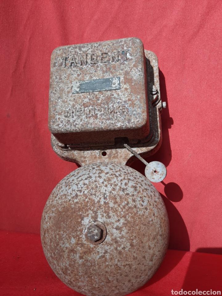 ANTIGUO TIMBRE ALARMA DE BARCO (Antigüedades - Varios)