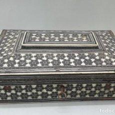 Antigüedades: CAJA ANGLOINDIA VIZAGAPATAM C. 1900. Lote 218687726