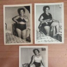 Oggetti Antichi: FOTOGRAFIAS EROTOCAS DE UNA ANTIGUA SEÑORA. Lote 218701303