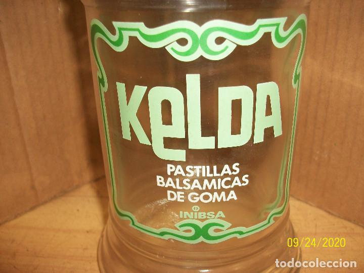 Antigüedades: ANTIGUO BOTE DE FARMACIA-PASTILLAS BALSAMICAS KELDA - Foto 2 - 218704401