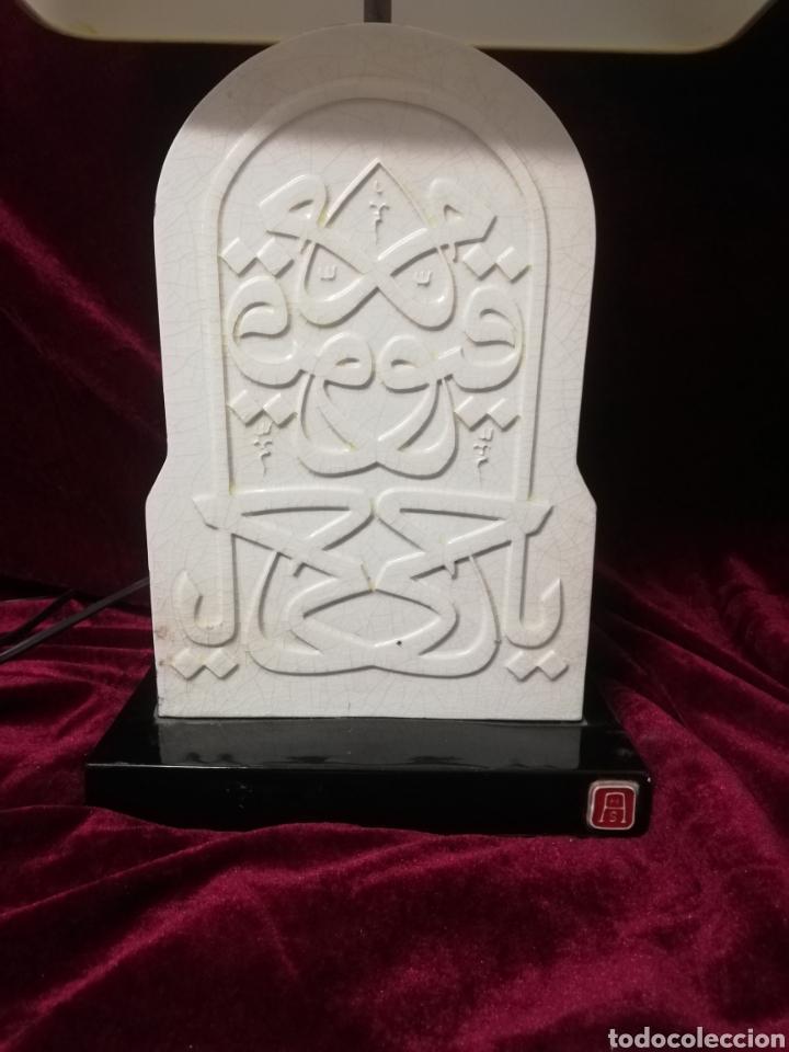 Antigüedades: Lámpara porcelana algora - Foto 2 - 218711573