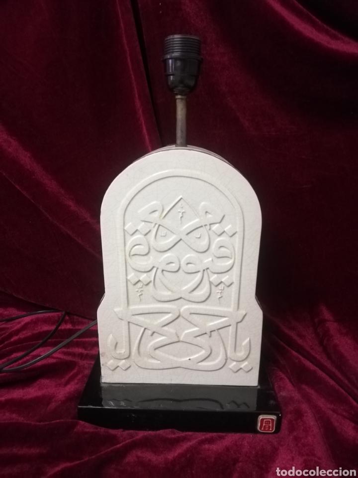 Antigüedades: Lámpara porcelana algora - Foto 4 - 218711573