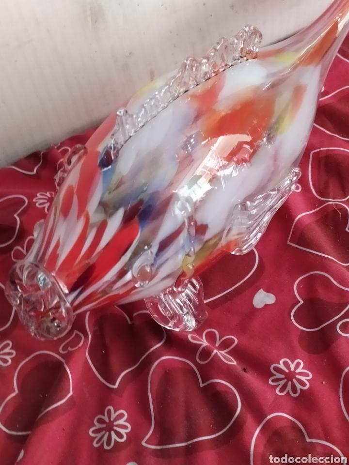 Antigüedades: Enorme pez de Murano vintage - Foto 5 - 218715543
