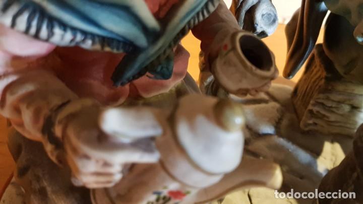 Antigüedades: EXQUISITA FIGURA DE CERÁMICA AR.CE.MI / PAREJA DE ANCIANOS / MUCHO DETALLE/ PERFECTO ESTADO. - Foto 15 - 218720567