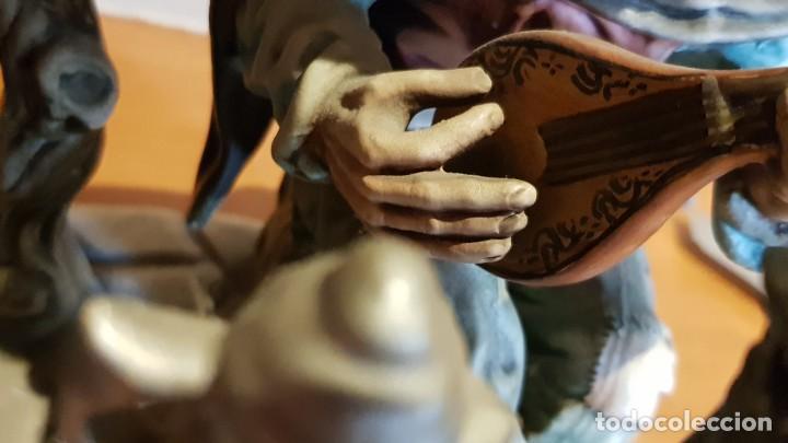 Antigüedades: EXQUISITA FIGURA DE CERÁMICA AR.CE.MI / PAREJA DE ANCIANOS / MUCHO DETALLE/ PERFECTO ESTADO. - Foto 16 - 218720567