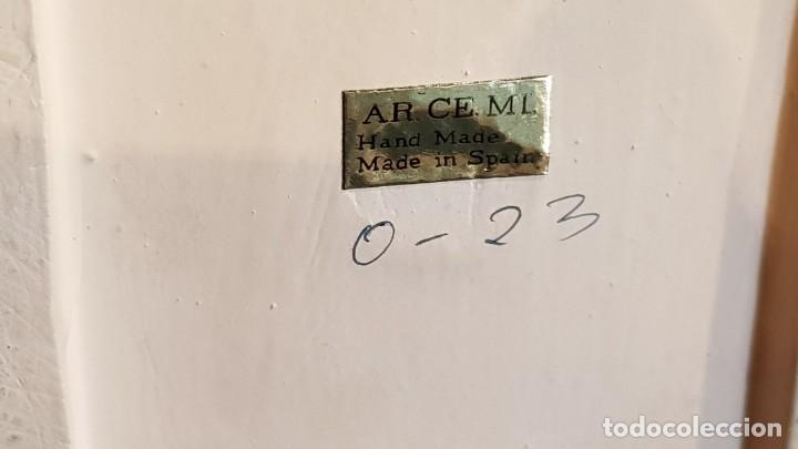 Antigüedades: EXQUISITA FIGURA DE CERÁMICA AR.CE.MI / PAREJA DE ANCIANOS / MUCHO DETALLE/ PERFECTO ESTADO. - Foto 18 - 218720567