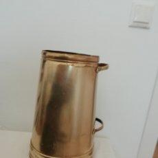Antigüedades: CANTARA MEDIDA DE LATÓN. Lote 218723450