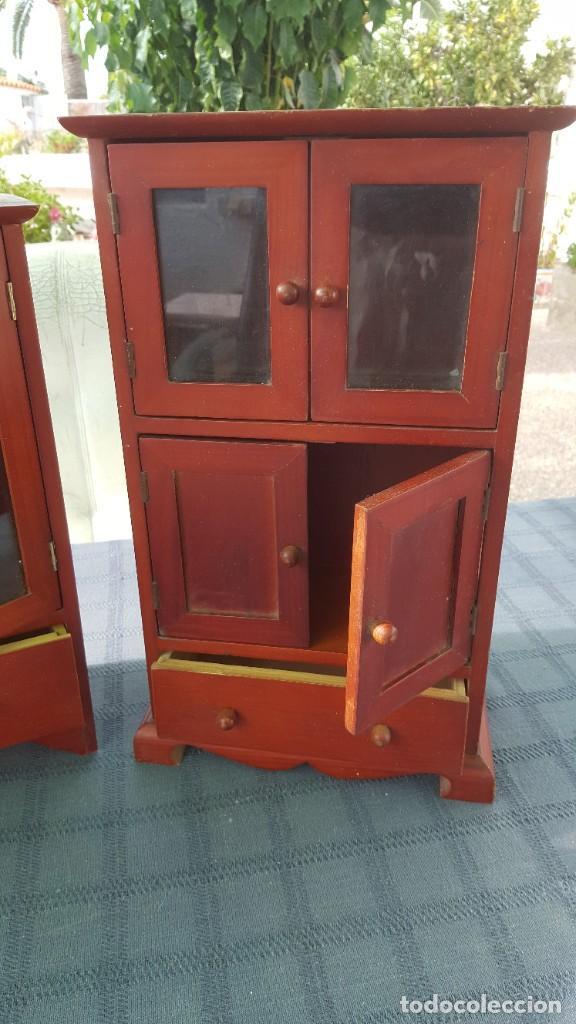 Antigüedades: 3 Armarios pequeños - Foto 4 - 218730577