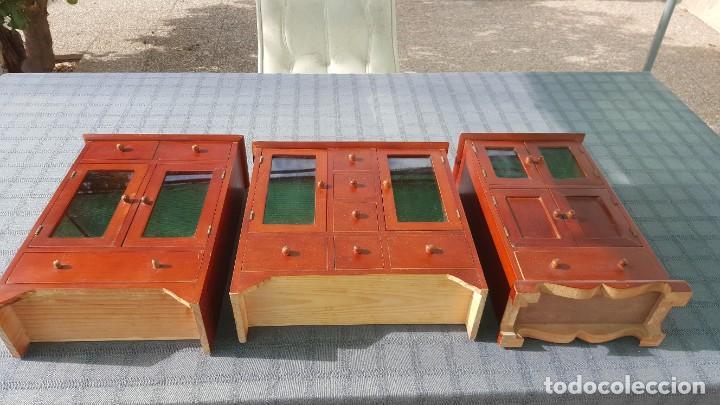 Antigüedades: 3 Armarios pequeños - Foto 5 - 218730577