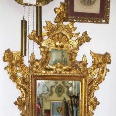 Antigüedades: SOBERBIO ESPEJO CORNUCOPIA ANTIGUO DE 130 CM - ENVÍO GRATIS PENÍNSULA. Lote 218750855
