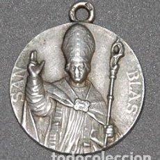 Antigüedades: MEDALLA DE PLATA SIGLO XX SAN BLAS-Nº548. Lote 218751087