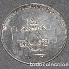 Antigüedades: MEDALLA DE PLATA HERMANDAD SANTO SEPULCRO DE GRANADA -Nº551. Lote 218751737