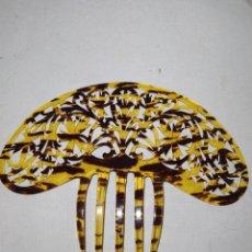 Antigüedades: ANTIGUA PEINETA DE CAREI PARA MANTILLA. Lote 218754965