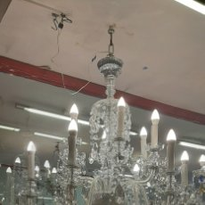 Antigüedades: LAMPARA ARAÑA CRISTAL BOHEMIA. Lote 218767361