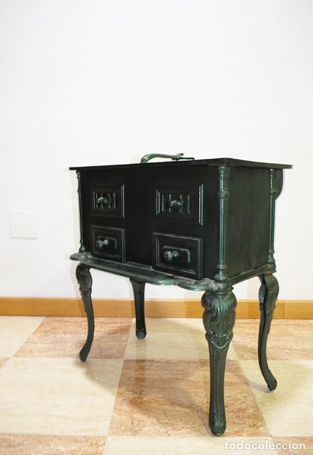 Antigüedades: COCINA ANTIGUA DE PORCELANA ESMALTADA SIGLO XIX - Foto 7 - 218772061