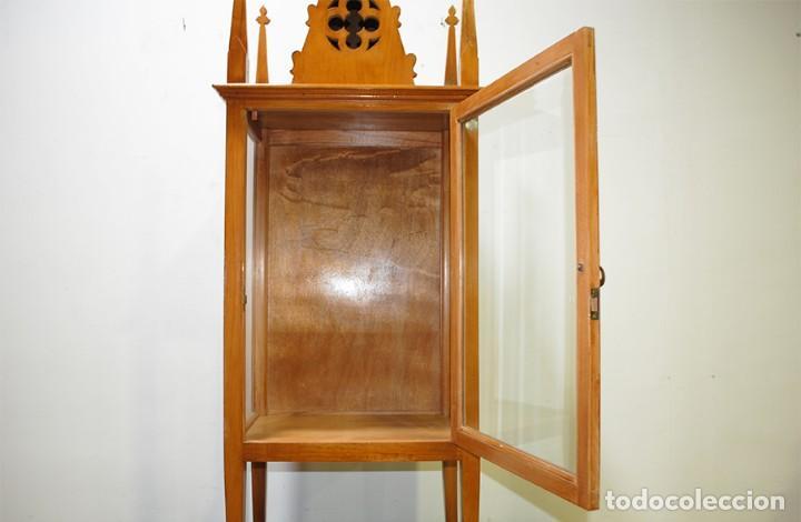 Antigüedades: CAPILLA ANTIGUA HORNACINA ESTILO MODERNISTA - Foto 4 - 218772136
