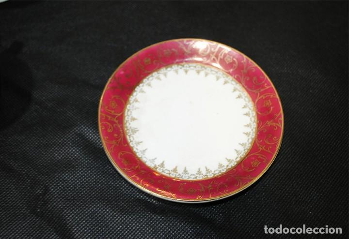 Antigüedades: JUEGO DE CAFÉ ANTIGUO PORCELANA LIMOGES - Foto 6 - 218772638