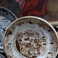 Antigüedades: PLATO HONDO DE CERÁMICA DE CARTAGENA. Lote 218773937