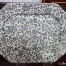 Antigüedades: FUENTE FLORES DE CERÁMICA DE CARTAGENA DEL SIGLO XIX. Lote 218777193