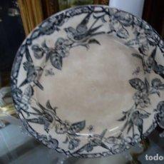 Antigüedades: FUENTE DE CERÁMICA DE CARTAGENA DEL SIGLO XIX. Lote 218777420