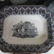 Antigüedades: FUENTE HONDA DE CERÁMICA DE CARTAGENA DEL SIGLO XIX. Lote 218777942